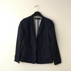 Zara Basic Collection Coat Vest USA Classic Black